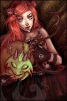 The blood that lives in her... by roxbaby
