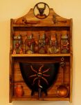 Witches Potion Rack by zimzim1066