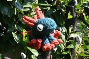 Amigurumi Murloc World of Warcraft by amiguGEEK