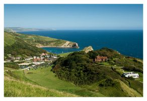 Lulworth Cove by x9k