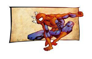 Spiderman Time Challenge by JoshMaule