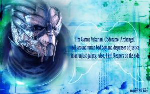 Happy N7 Day: Garrus by Belanna42