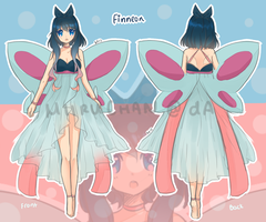 Finneon Gijinka Adoptable Auction [CLOSED] by mieille