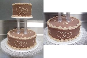 Chocolate Wedding Cake by ayarel