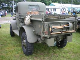 Old Army Truck 2 by noneofurbussiness