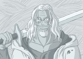 -Right Hand of the Pirate King- Silvers Rayleigh by Erk-kun