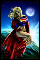 Super girl-Color by Destinyfall