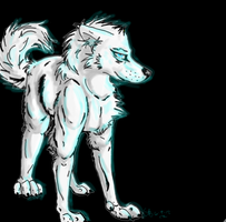 White wolf by TheBreeze1