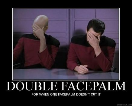 Double Facepalm - DP by Sadiee