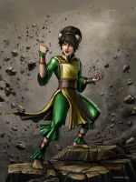Toph Smash! by SirTiefling