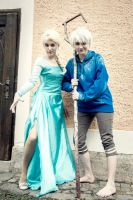 [Cosplay] Jackelsa (RotG and Frozen) - III by SunwardLight