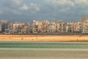 St. Malo beach Ille-et-Vilaine  France by hubert61