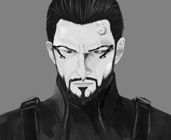 Adam Jensen - Deus Ex: Human Revolution by BlackStormN7