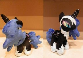 Nightmare Moon Plush by StarMassacre