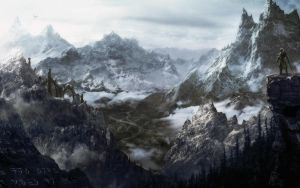Skyrim Panorama. by Kimba