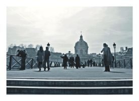 Paris-Pont des Arts by Alabastra