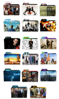 TV Show Folder Icon Pack PNG by kaik541