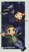 Sam and Dean in Space XDDDD by Kuchiki-Narla