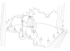 uhhh...dumbledore is that you? by erethusianelf
