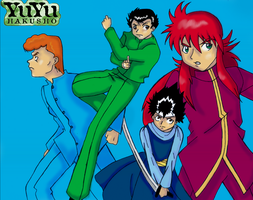 YYH Group for StealthPanter by DragonPhantom