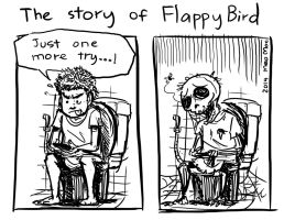 The story of FlappyBird by MeoMoc