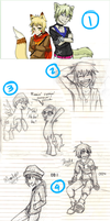 Dump of Sketches 08 by AbnormallyNice
