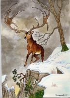 Big Irish Elk by DianaKennedy