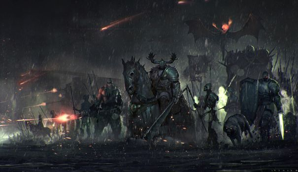 Chaos warlord by SaeedRamez