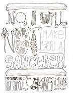 No Sandwiches by cwhistle