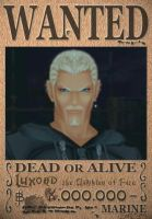 Luxord Wanted Poster by SoraKing
