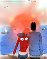 SasuSaku: The Sunset by CherryBlossomSS