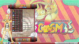 THEME WINDOWS 7 ULTIMATE 2013 NARUTO by ToxicoSM
