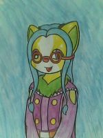 xandra pencilwater color by jancy15