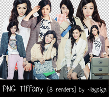 PNG Tiffany SNSD [8 renders] by ~lagsiga by lagsiga