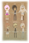 [11-16] misc adoptables 2 :: nyp open by Adoradopts