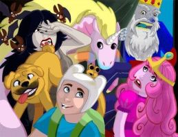 Adventure Time!! by amayajael123