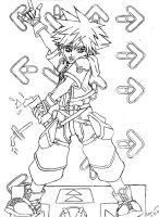 DDR Sora by MidnightFlame