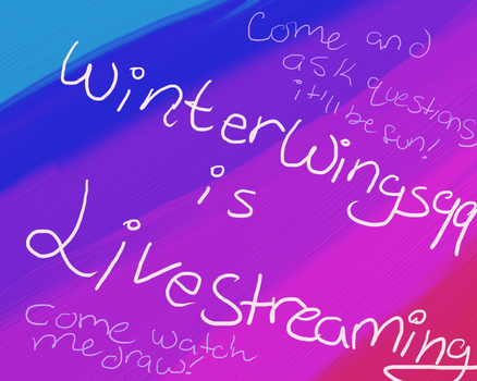 LiveStream Post Offline @ moment but will continue by WinterWings99