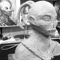 Christopher Carrion clay by DaveRichardsonArt