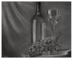 A Glass of Wine by EquilibriumSW
