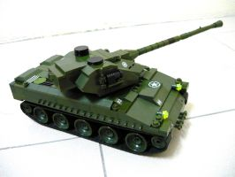 French WWII Tank Lorraine 40t 5 by SOS101