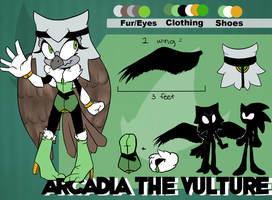 Arcadia the Vulture by eternityspark