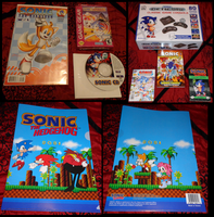Sonic Collection .:Update 11:. by VeggieMadness