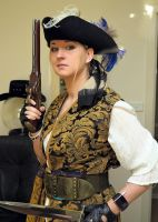 Talk Like a Pirate? Rather Dress Like one! by Chastangela