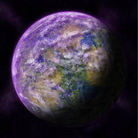 Purple planet by Patryk567