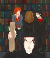 Happy Birthday, Snape! by staypee