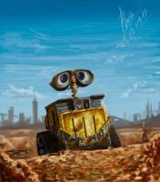 Wall-E by abzac666