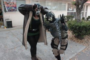 Ghost ( COD MW2 ) and Bane By Grecia Villar by PrincessOfCrime