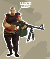 TF2 Heavy Alex by frenzee