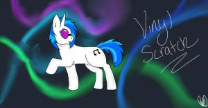 Vinyl Scratch by ScarletsFeed